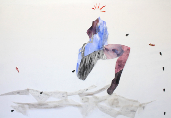 Artwork by Katherine Toukhy, PES Grab back artist-in-residence